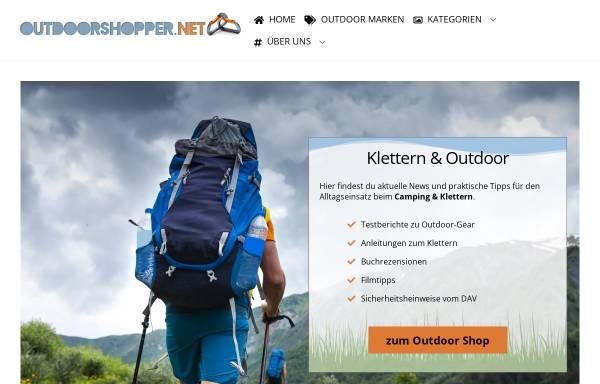 Vorschau von www.outdoorshopper.net, Outdoorshopper