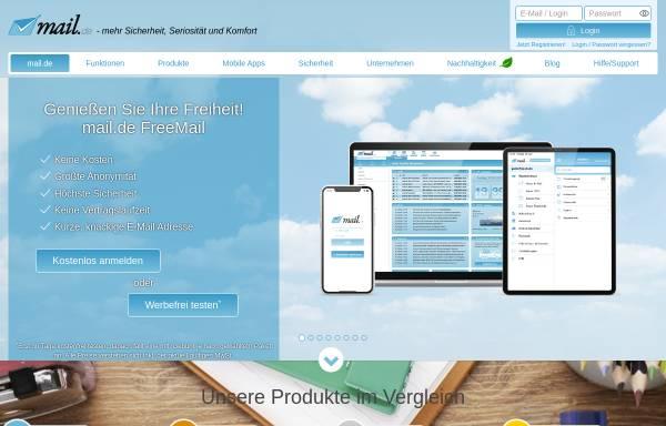Vorschau von mail.de, mail.de GmbH