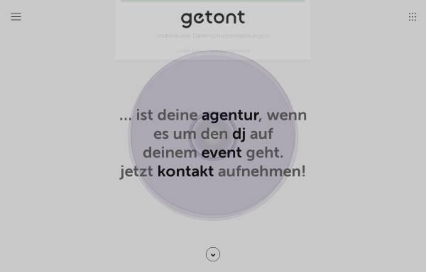 Vorschau von getont.de, getont Dj-Agentur Voerg & Duarte GbR