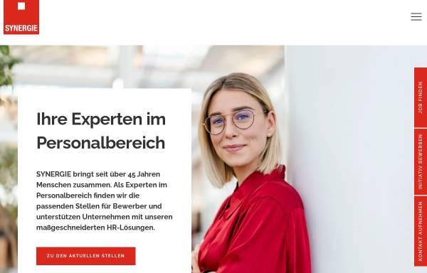 Vorschau von www.synergie.de, SYNERGIE Personal Deutschland GmbH