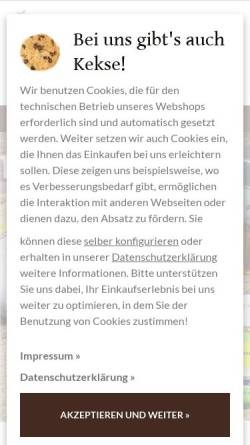 Vorschau der mobilen Webseite www.chocolats-de-luxe.de, Chocolats-de-luxe.de GmbH