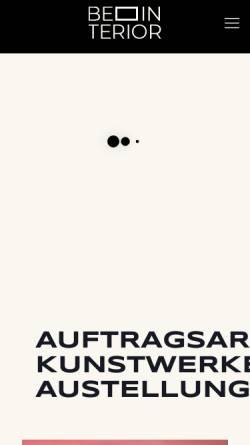 Vorschau der mobilen Webseite www.galerie-sergej-lipping.de, Galerie Sergej Lipping