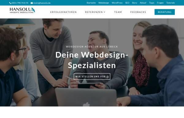 Vorschau von marketing-ohne-klugschnacken.de, Hansolu GmbH