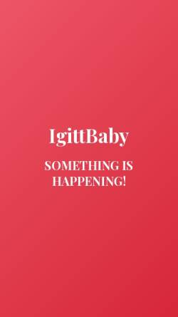 Vorschau der mobilen Webseite igittbaby.de, IgittBaby