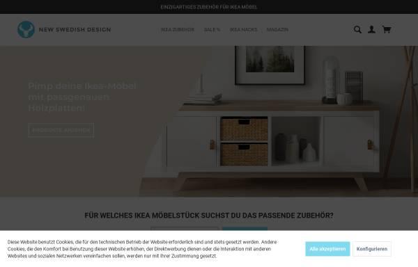 Vorschau von new-swedish-design.de, NSD New Swedish Design GmbH