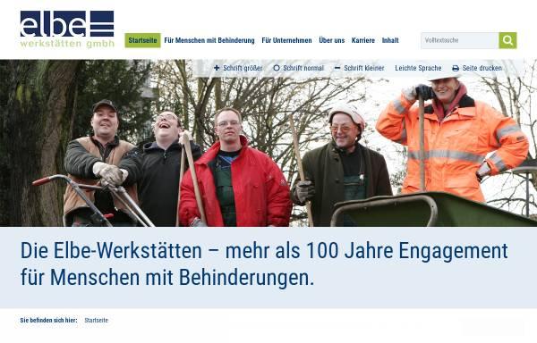 Vorschau von www.elbe-werkstaetten.de, Elbe-Werkstätten GmbH