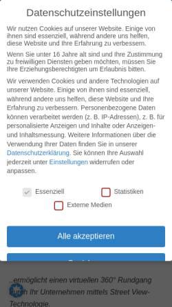 Vorschau der mobilen Webseite www.business-view.de, Sebastian Schwarz, Zertifizierter Business View Fotograf