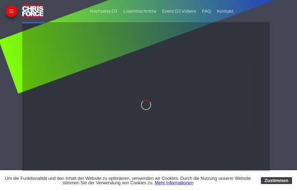 Vorschau von www.chris-force.de, DJ Chris Force