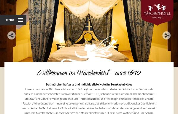 Vorschau von www.maerchenhotel.com, Märchenhotel