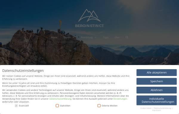 Vorschau von www.auf-die-zugspitze-wandern.info, Alle Wege auf die Zugspitze