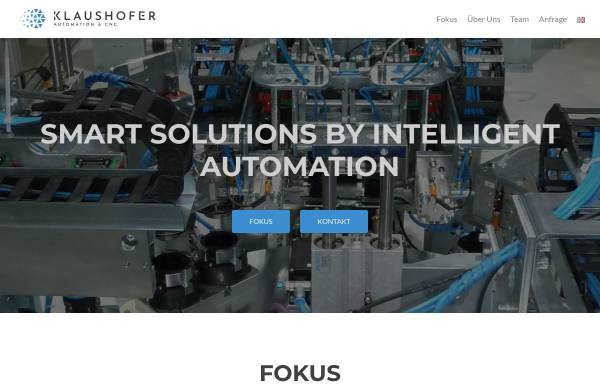 Vorschau von www.klaushofer.eu, Klaushofer Automatisierungstechnik