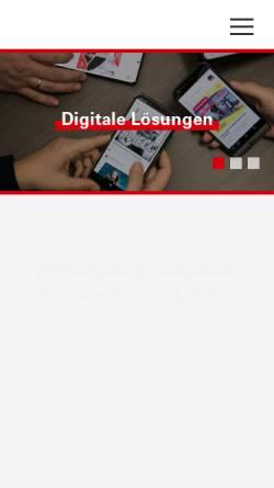 Vorschau der mobilen Webseite www.wh-i.at, WH-Interactive GmbH