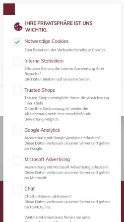 Vorschau der mobilen Webseite www.lagertechnik-becker-shop.de, Lagertechnik Becker GmbH