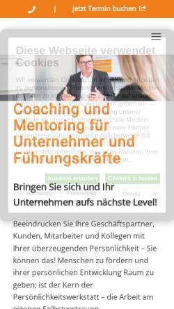 Vorschau der mobilen Webseite dieter-schnaubelt.de, Dieter Schnaubelt - Training & Coaching