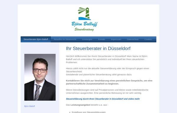 Vorschau von www.balluff-steuerberatung.de, Björn Balluff Steuerberatung