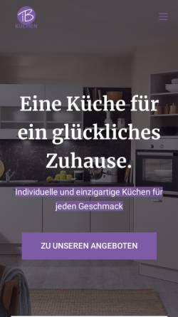 Vorschau der mobilen Webseite www.ib-kuechen.de, IB Küchen, Inna Bem