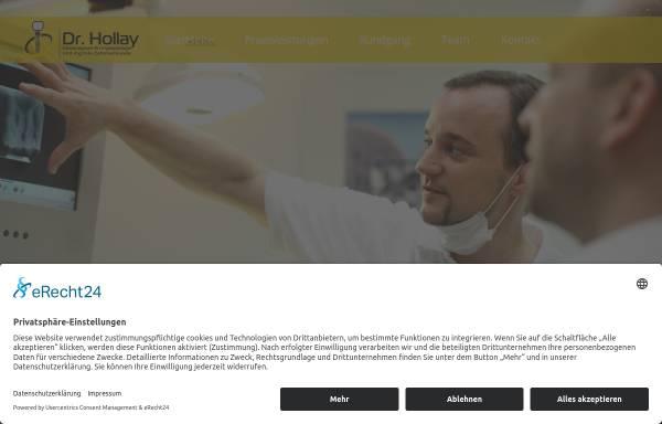 Vorschau von www.dr-hollay.de, Zahnarztpraxis Dres. Hollay