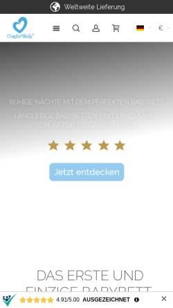 Vorschau der mobilen Webseite www.comfortbaby.de, ComfortBaby - Olymp & Olipa GmbH