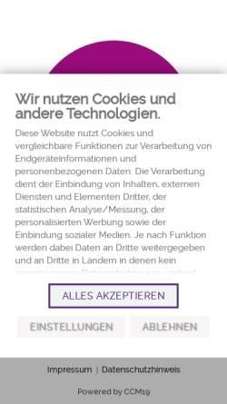 Vorschau der mobilen Webseite www.zwergerl-magazin.de, Zwergerl Magazin - das Familienmagazin in der Metropolregion München