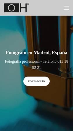Vorschau der mobilen Webseite www.fototavi.de, Horn, Octavian - Der Mann mit der Lizenz zum Fotografieren