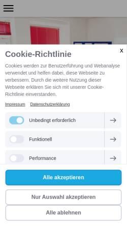 Vorschau der mobilen Webseite www.beratungsunternehmen.net, In & Out Beratungsunternehmen hilft durch passgenaue Unternehmens- und Personalberatung