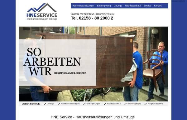 Vorschau von www.hne-service.com, HNE Service