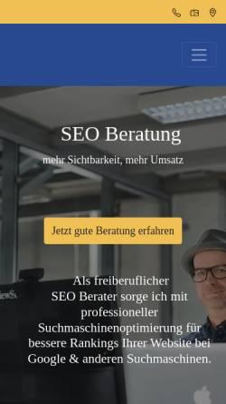 Vorschau der mobilen Webseite werbelaeufer.de, Die Werbeläufer