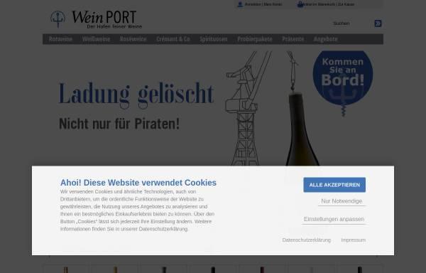 Wein PORT - Der Hafen feiner Weine in Hamburg: Wein, Getränke wein ...