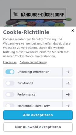 Vorschau der mobilen Webseite www.lookatdsigns.de, Atelier DSigns, Anne-Marie Morscheck
