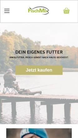 Vorschau der mobilen Webseite www.fischmix.de, FischMix - Dr. Oliver Bonkamp