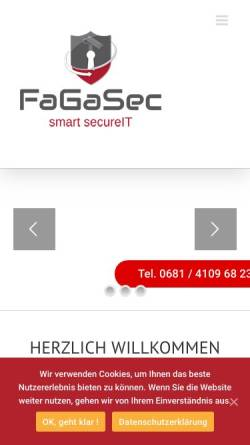 Vorschau der mobilen Webseite www.homefort.de, homefort GmbH