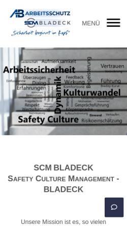 Vorschau der mobilen Webseite www.ab-arbeitsschutz.de, AB Arbeitsschutz GmbH