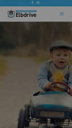 Vorschau der mobilen Webseite intensivfahrschule-elbdrive.de, Intensivfahrschule Elbdrive