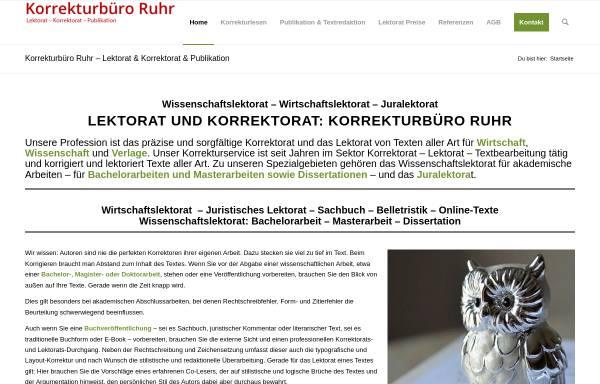Vorschau von lektorat-korrekturlesen.de, Korrekturbüro Ruhr, Dr. Hartmut Pietsch