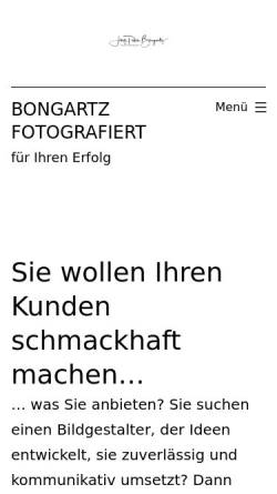 Vorschau der mobilen Webseite www.bongartz-fotografiert.de, Jörg Bongartz