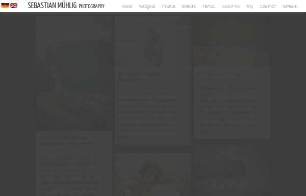 Vorschau von www.sebastianmuehlig.com, Hochzeitsfotograf Sebastian Mühlig