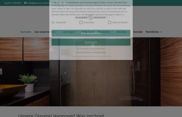 Vorschau von glaserei-nolting.de, Glaserei Nolting GmbH