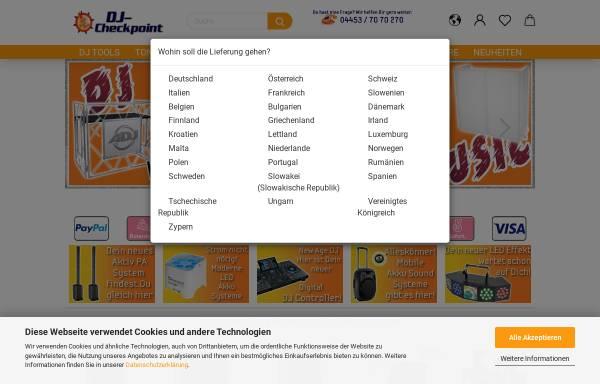 Vorschau von www.dj-checkpoint.de, DJ Checkpoint