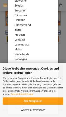 Vorschau der mobilen Webseite www.dj-checkpoint.de, DJ Checkpoint