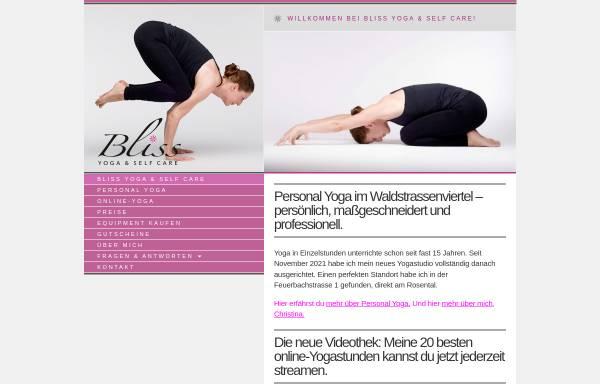 Vorschau von bliss-leipzig.de, Bliss Ashtanga Yoga