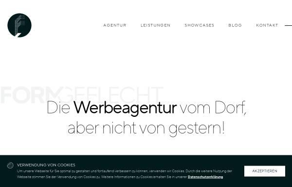 Vorschau von www.formgeflecht.de, FORMGEFLECHT GmbH