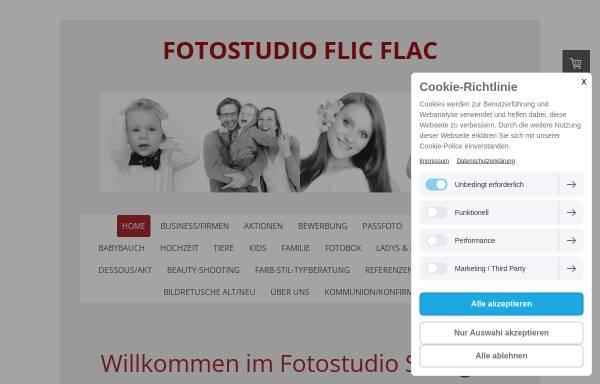 Vorschau von www.fotoflicflac.de, Fotostudio Flic Flac