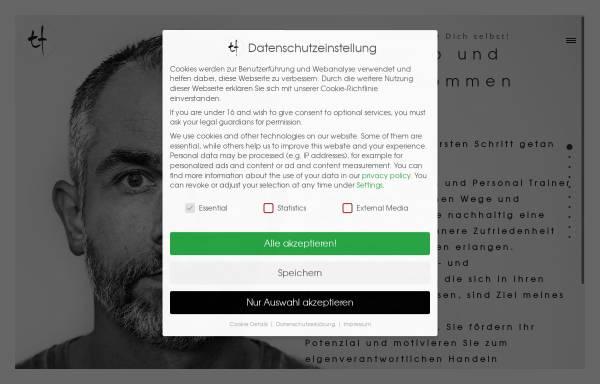 Vorschau von personal-trainer-berlin.de, Personal Trainer & Gesundheitscoach Torsten Fleischer