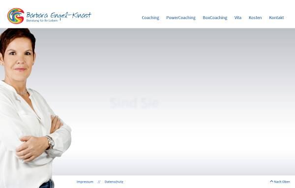 Vorschau von www.ziele-erreichen-bonn.de, Barbara Engel-Kinast: Beratung für Ihr Leben