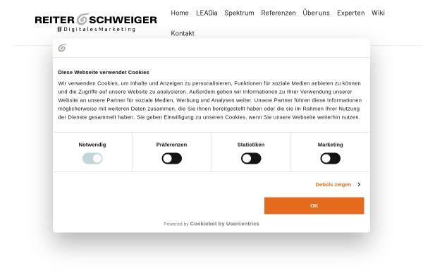 Vorschau von reiter-schweiger.de, Reiter & Schweiger Werbeagentur GmbH