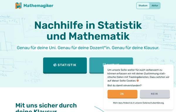 Vorschau von mathemagiker.de, Mathemagiker