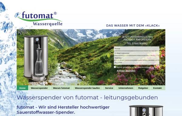 Vorschau von www.futomat-wasserspender.de, futomat Wasserspender, Thomas R. Funk