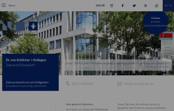 Vorschau von www.vonschilcher.de, Zahnarztzentrum am Hofgarten - Dr. von Schilcher + Kollegen