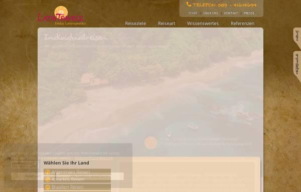Vorschau von www.latintravels.de, LatinTravels GbR
