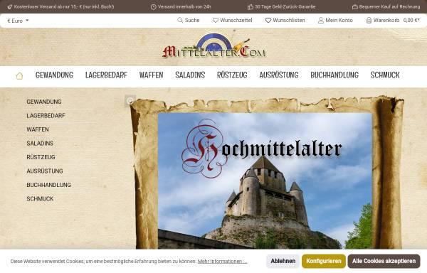 Vorschau von kontor.mittelalter.com, Mittelalter.Com